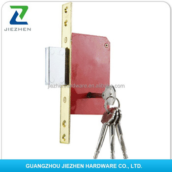 Remote Control Door Handle Wooden Lock Body Double Cylinde Round ...