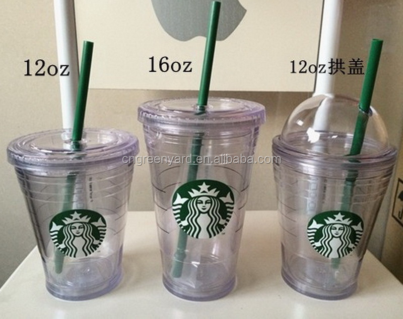 cup with straw / paper cup with straw / hard plastic cup with lid and straw