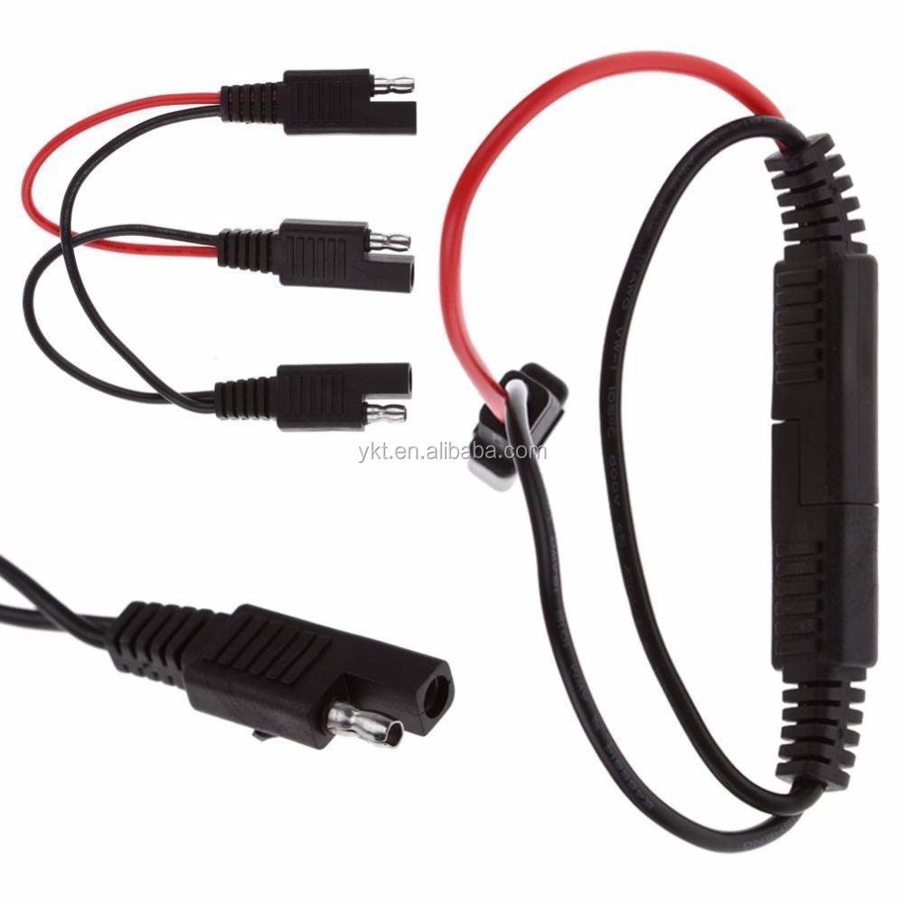 Finden Sie Hohe Qualität 2 Pin Stecker Sae Kabelbaum Hersteller ...