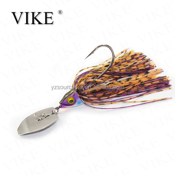 Painted Chatter Bait,Tungsten Bladed Fishing Jig Heads - Buy Tungsten Jig  Heads,Tungsten Fishing Jig Heads,Tungsten Bladed Fishing Jig Heads Product
