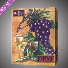 Modern wall art impressionist fruit oil paintings on canvas