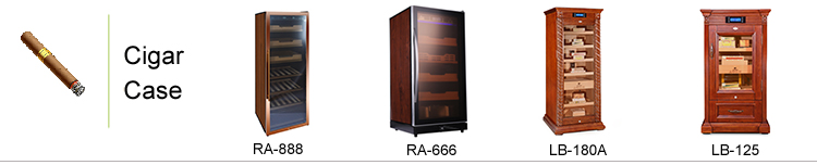 LB-180-A High Quality Yiwu Jiju Cigar Accessories Electrical Humidor Cigar Humidor Cabinet