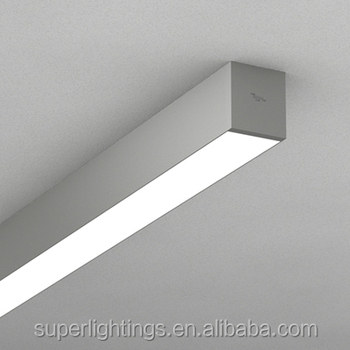 Office Surface Mount Ceiling Fluorescent Light Fixture,Flush Mounted ...