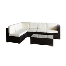 3 seater sectional armless banquette apartment sleeper sofa with chaise