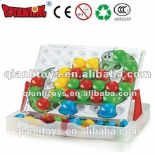 Plastic Educational child Connecting Toy QL-010(F)-7 of color box packing