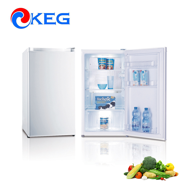 95L 220V 110V Defrost Small Upright Glass Door Mini Fridge Refrigerators with Australia MEPS Approval