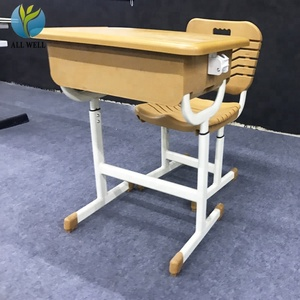 High quality ABS plastic school chair old wooden school desks for sale