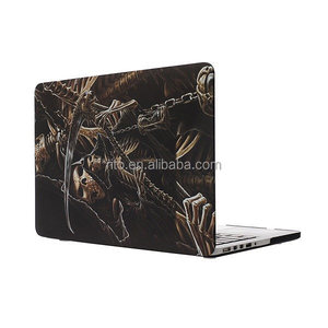 For Apple Macbook Pro Laptop, Water Transfer Print Soft Top Case for MacBook Air A1237