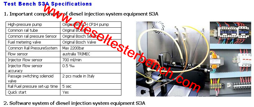 Qr Code Generation Test Bench Common Rail Injector Test Bench S3a Diesel  Test Bench For Bosc Denso Injector - Buy Qr Code Generation Test Bench  Common