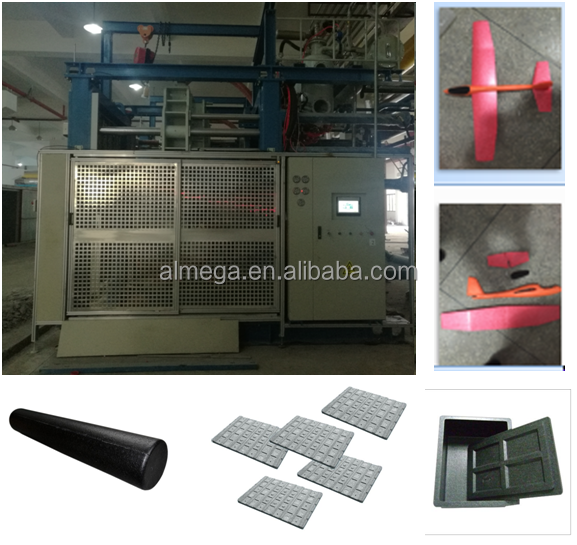 Full Automatic EPP Moulding Machine Save Energy