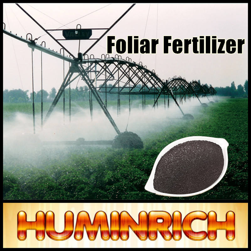 Huminrich Rich in Nutrients 75HA+15FA+10K2O Potassium Humate Fulvic Fertilizer Soil Microbe
