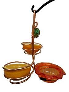 Birds Choice Copper Single Cup/Double Fruit Oriole Feeder by Birds Choice