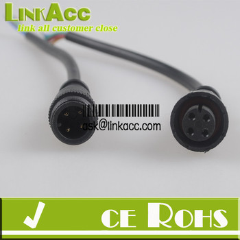 Waterproof Polarized 4-wire Cable Set - Buy Waterproof Polarized ...