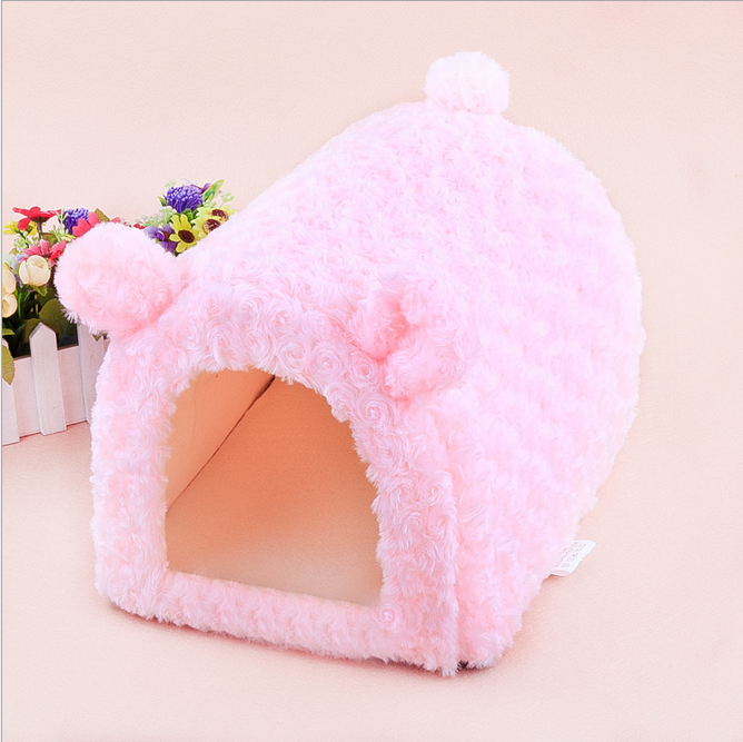 New Arrival Pet Product Latest Design Cat Dog House Personalized Indoor Pet Bed