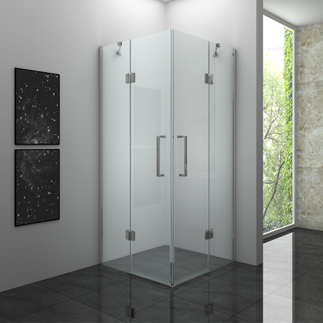 6K1024 Frameless Glass Shower Enclosure 6mm Hinge Door