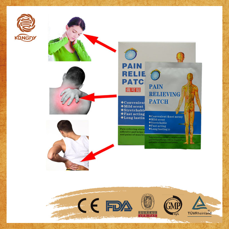 Free samples medical herbal anti-rheumatic pain patch
