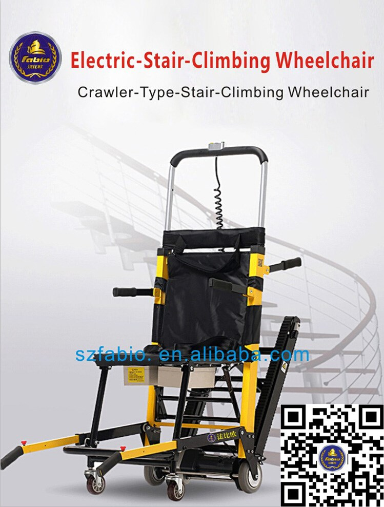 Safe high end 24v200w lithium battery stair climbing for Motorized wheelchair stair climber