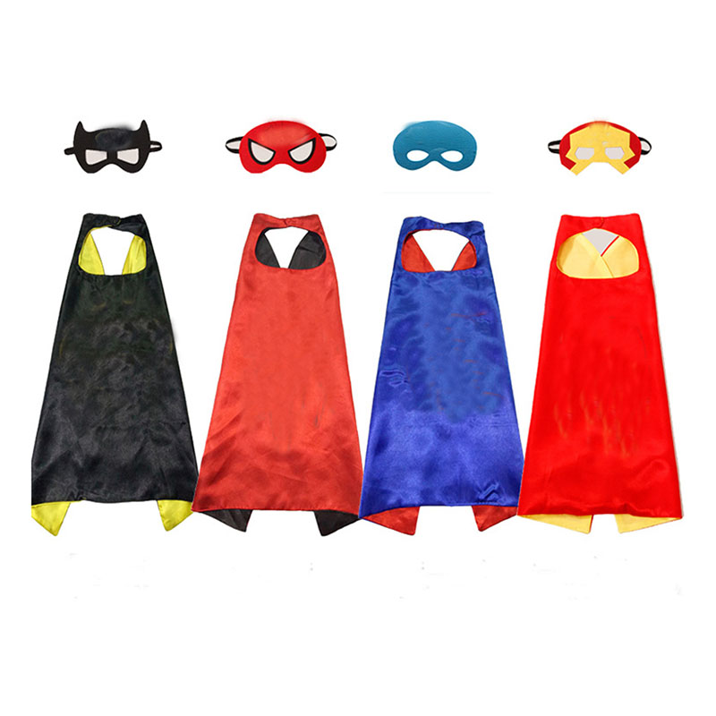 High quality children <strong>kids</strong> halloween christmas <strong>kids</strong> custom <strong>cape</strong> and mask set