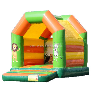 0.55 PVC Tarpaulin Commercial Inflatable bounce house for sale