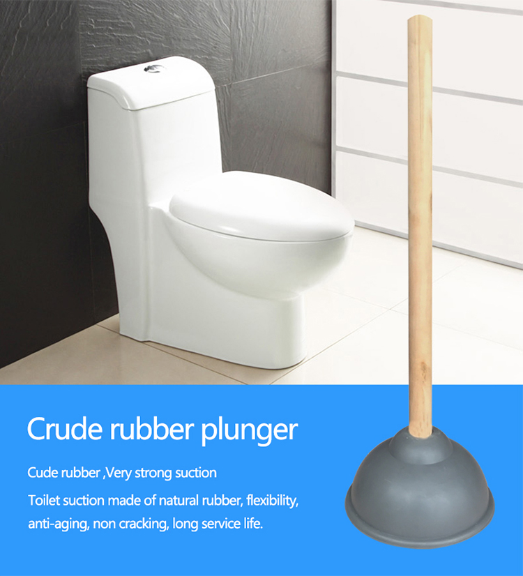 Made in China rubber heavy duty toilet plunger, designer toilet plungers