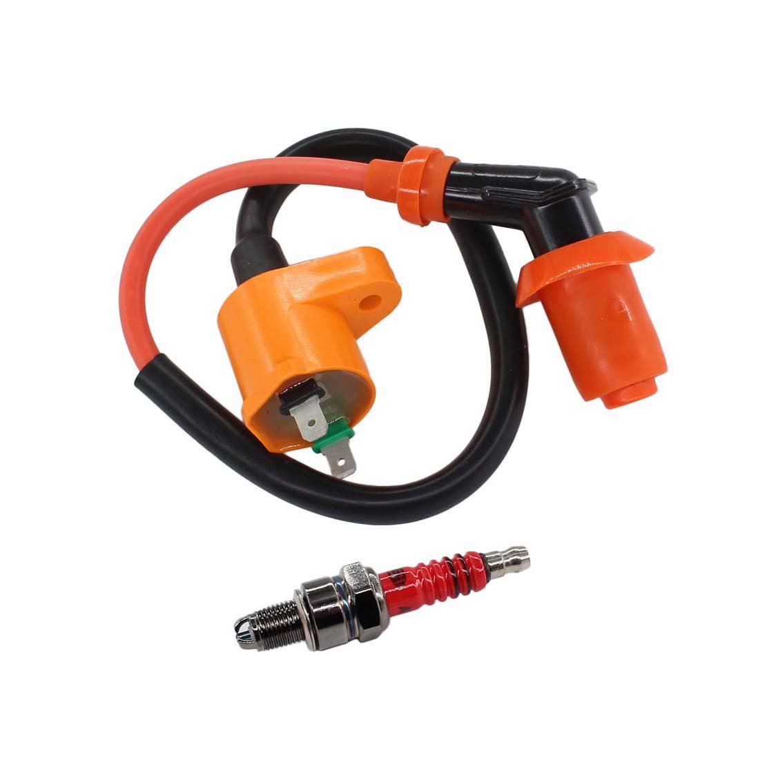 Cheap Honda Xr70 Parts Find Deals On Line At Xr80 Wiring Get Quotations Uspeeda Ignition Coil Spark Plug For Xr50 Xr100 Crf50 Crf70 Crf80 Crf100