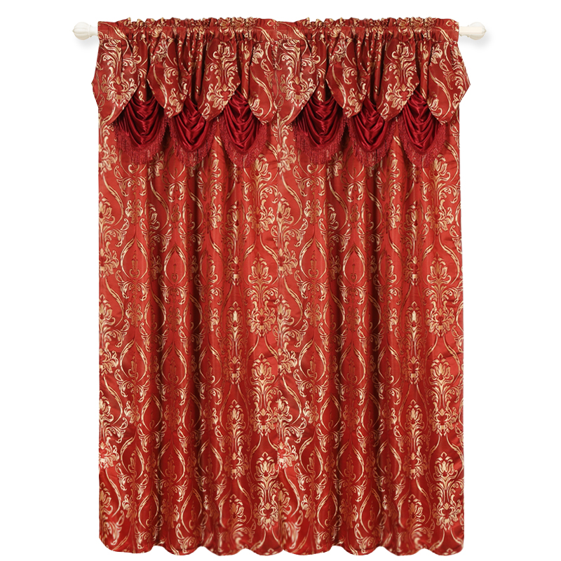 curtain,600 Pieces, Red
