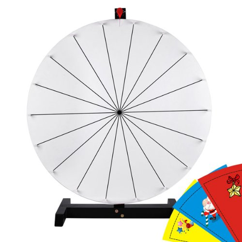 Cheap wood prize find wood prize deals on line at alibaba get quotations white dry erase spinning board 30 inches round tabletop prize wheel 18 slots click w maxwellsz