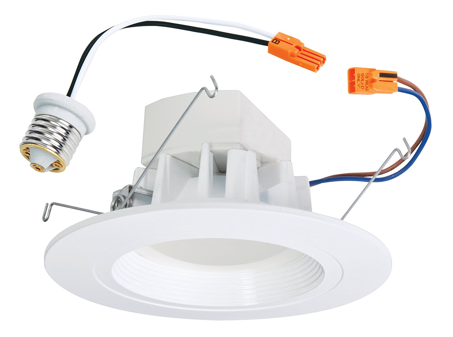 All-Pro ALED3T24 ALL-Pro LED Retrofit Recessed Downlight Fits 5-inch and 6-inch Housings Rated for Wet Location, Equivalent to 65 Watts, White