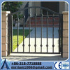 Standard Size Powder Coated Ornamental Wrought Iron gates