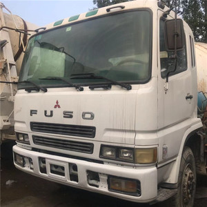 Used mitsubishi fuso 6x4 truck mounted concrete mixer,large capacity  concrete mixer truck,mobile concrete mixer with pump