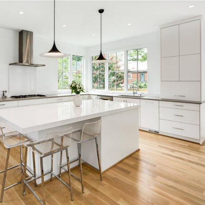 Small L-shaped Mdf Lacquer Commercial Kitchen Cabinets Island Designs Hot  Selling - Buy Commercial Kitchen Island,Small L-shaped Kitchen ...