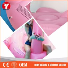 Inflatable pink color water floating flamingo