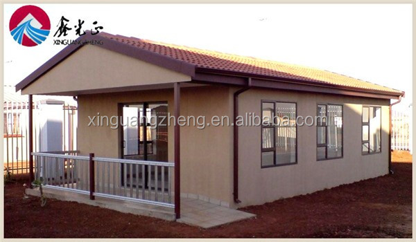living economical color steel prefab house