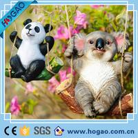 Animal Resin Funny Garden Ornaments Polyresin Miniature Figurines
