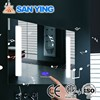 Modern Hotel Touch Screen Lighted Led Bathroom Mirror