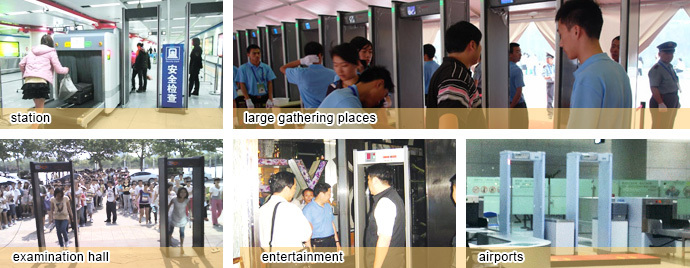 Night Club / KTV Security Walk Through Interior Metal Doors MCD-200
