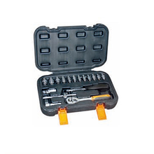 "17 pc Metric Soquete Tool Set Kit Mini Handy Caso <span class=keywords><strong>1</strong></span>/<span class=keywords><strong>4</strong></span> <span class=keywords><strong>Catraca</strong></span> Drive ""375184"