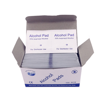 Sterile Alcohol Pad alcohol pad 70% isopropyl alcohol prep pads For Disinfection Use