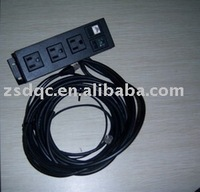 desktop outlet/safa socket/different modules/UL USA power