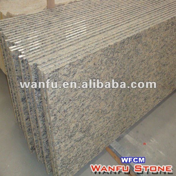 Pre-fab Tiger Skin Red Granite Countertops