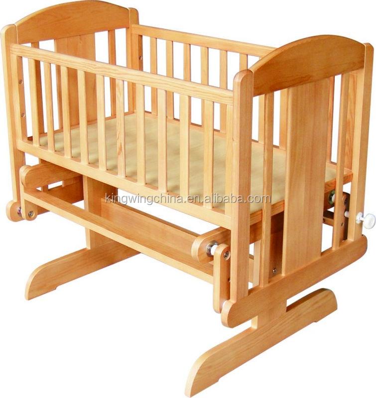 Madera cuna cuna de beb planeador cunas para bebes - Cunas de madera para bebes ...