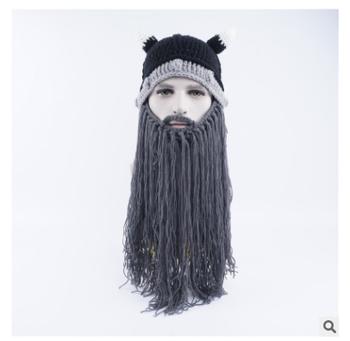 вязаная вязаный крючком шапка бини длинной бородой Buy вязаная