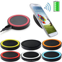New 2017 Factory Price Universal Portable Fantasy Mobile Phone Pad Qi Fast Wireless Charger