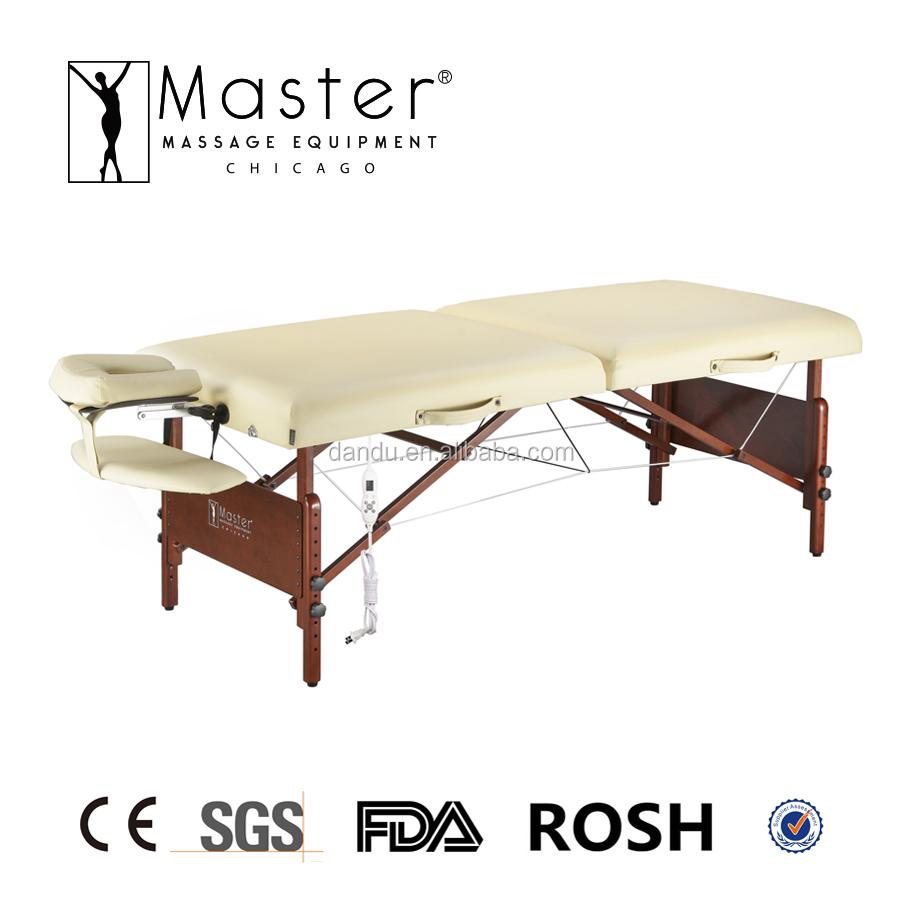 hot sale wooden portable master chicago massage table