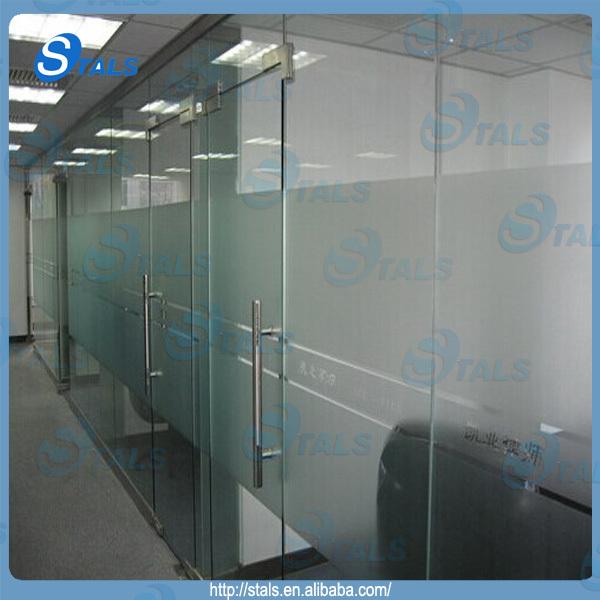 Commercial Office Glass Door Handles Sliding Glass Shower