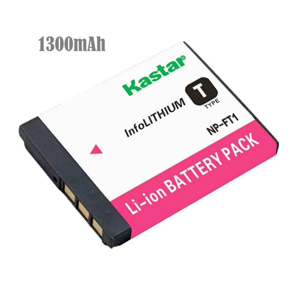 Kastar Battery for Sony NP-FT1 NPFT1 and Sony DSC-L1, DSC-M1, DSC-M2, DSC-T1, DSC-T3, DSC-T5, DSC-T9 DSC-T10, DSC-T11, DSC-T33 Digital Camera
