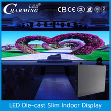 High brightness transparent SMD die-cast scan1/16 led display screen price