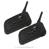 Hot Sale G-Wireless V6 Motorcycle Helmet Bluetooth Intercom for 6 Riders Interphone with 1200m Talking Range