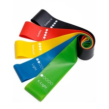 Hip latex stretch bands yoga <span class=keywords><strong>sport</strong></span> fitness oefening elastische <span class=keywords><strong>weerstand</strong></span> band loop set
