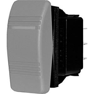 Blue Sea Systems - Blue Sea 8292 Water Resistant Contura Switch - Black